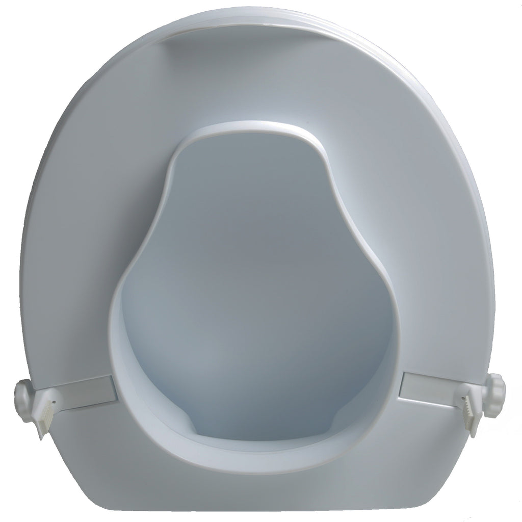 7022 2 Quot Molded Raised Toilet Seat With Lid Pcpmedical