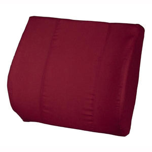 Burgundy Sacro Cushion with Removable Cover