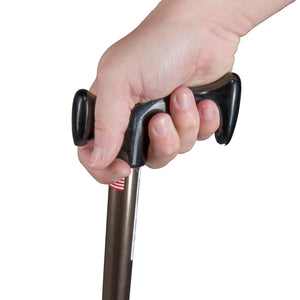 Hand Gripping Bronze Adjustable Devon Handle Cane