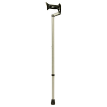 Large Grip Silver Frost Adjustable Orthopaedic Handle Cane