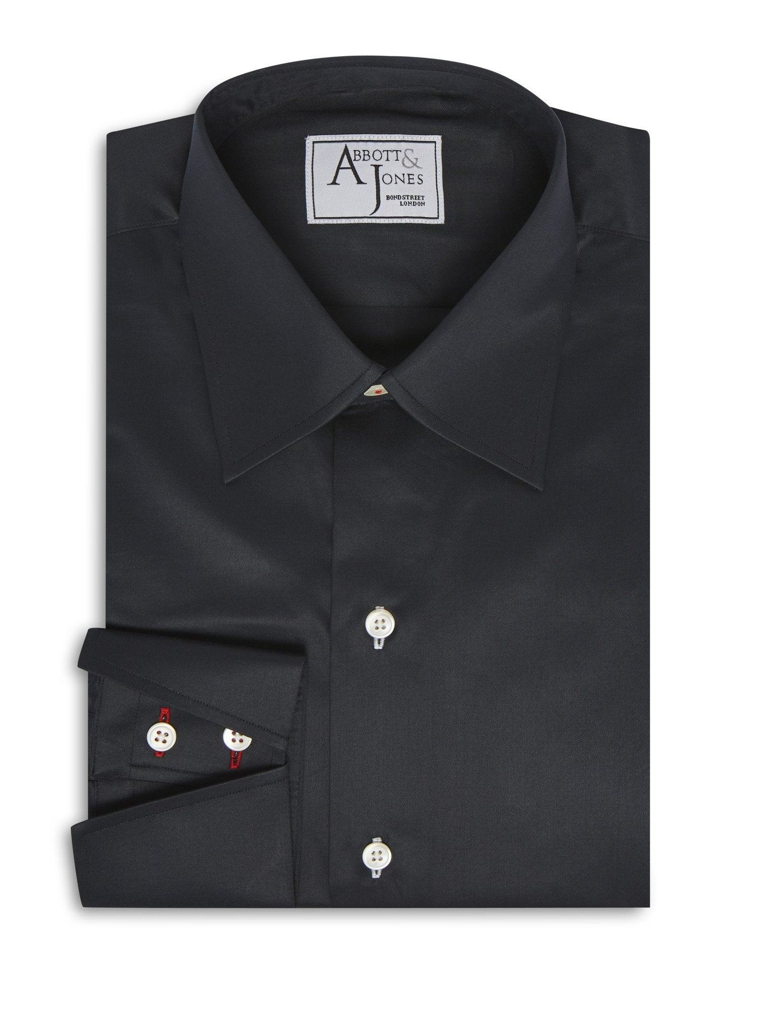 Bespoke - The Black Evening Shirt