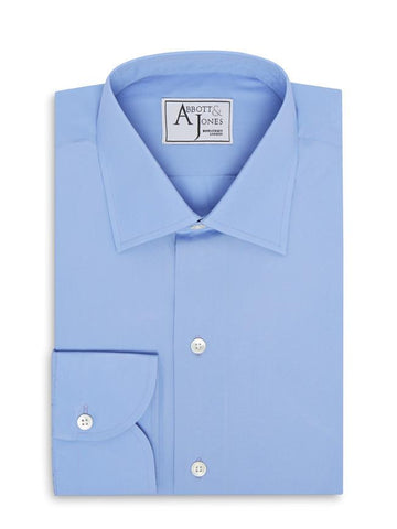 Bespoke - Light Blue Tattersall Tailored Shirt