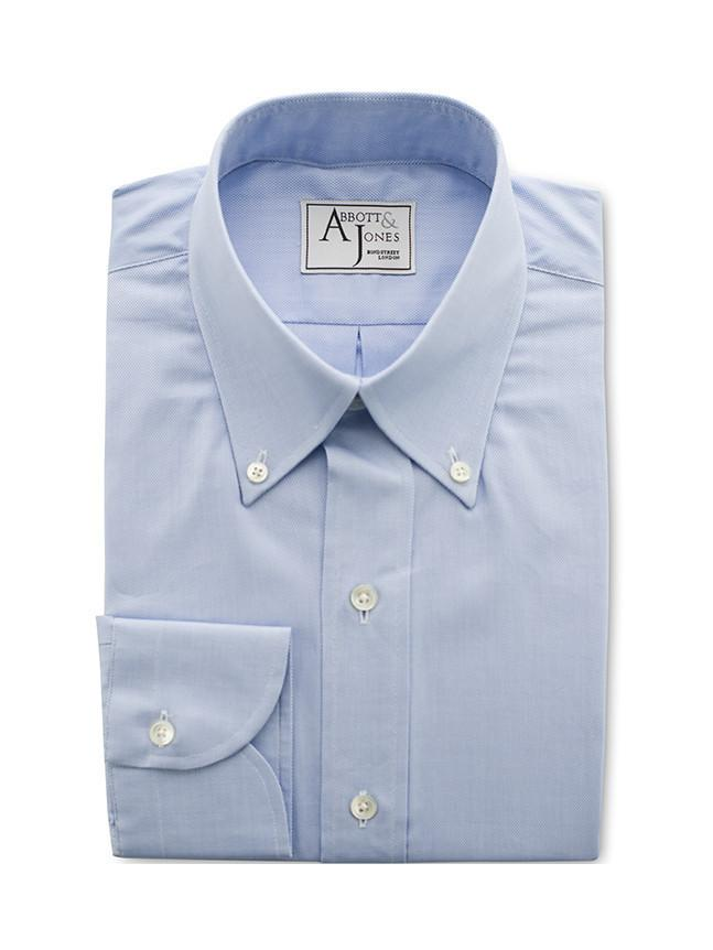 Bespoke - Light Blue Royal Oxford Shirt