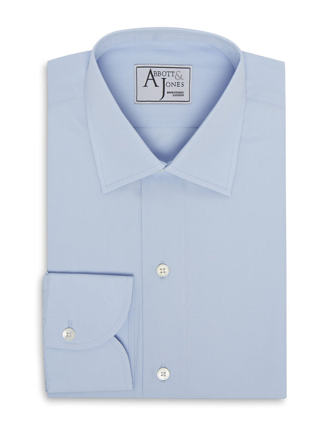The Raj Mirpuri Wrinkle Free Blue Shirt