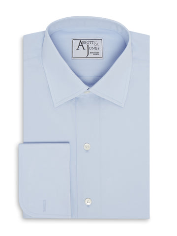 Bespoke - Light Blue End on End Shirt