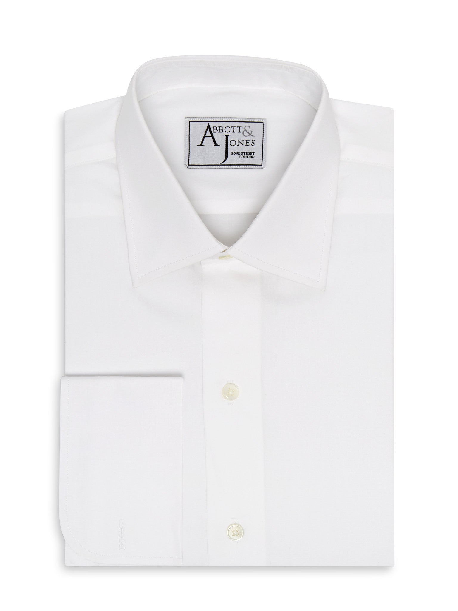 Bespoke - The Essential White Shirt - French Cuffs