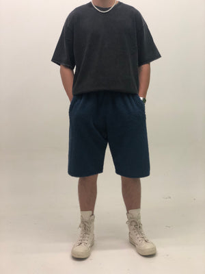 TERRY SHORTS NAVY