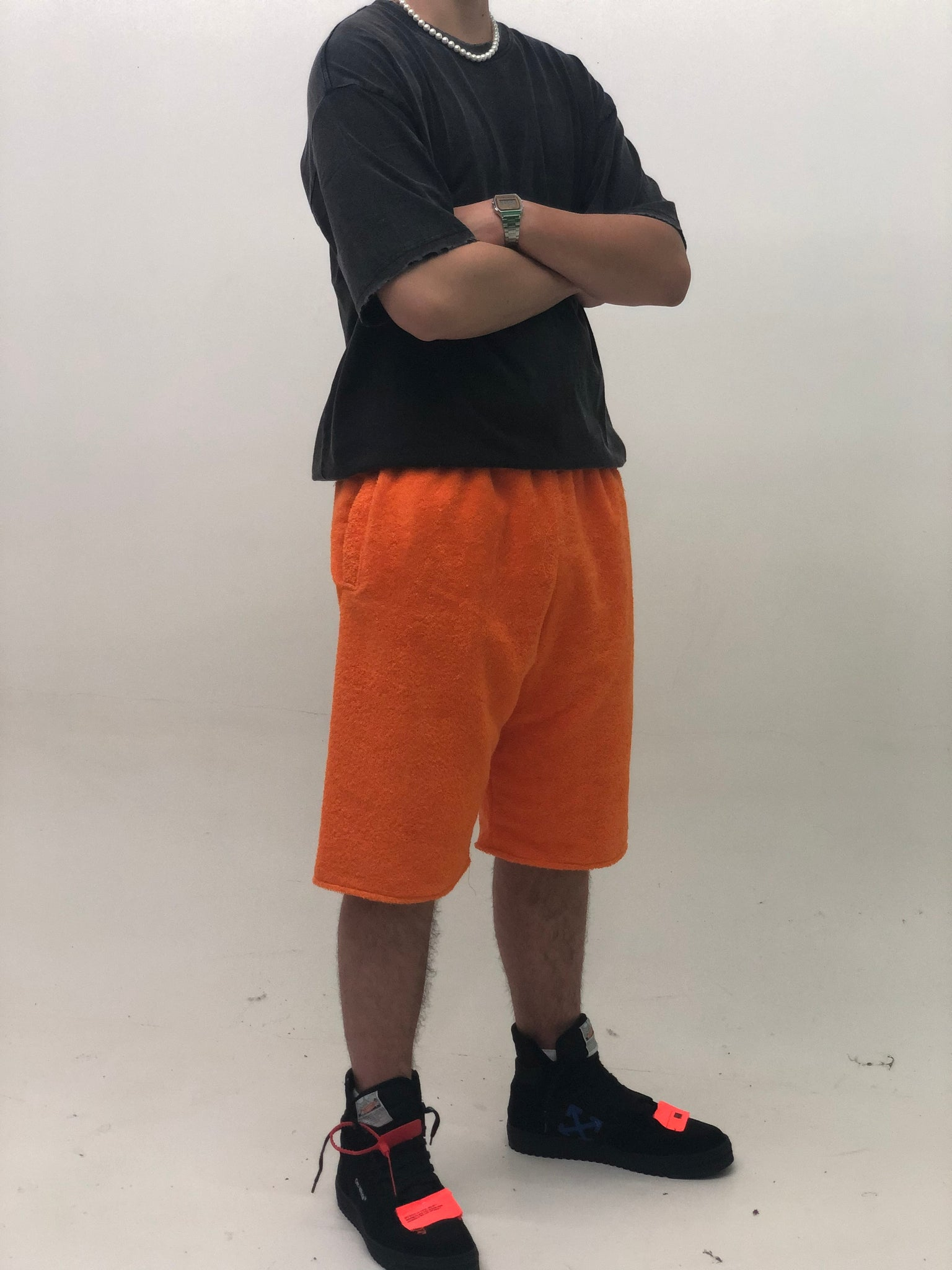 TERRY SHORTS ORANGE