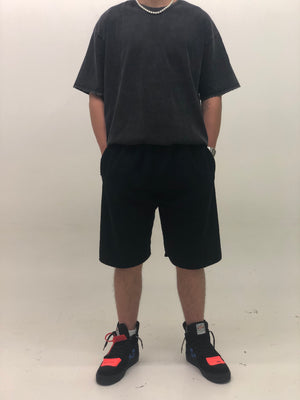 TERRY SHORTS BLACK