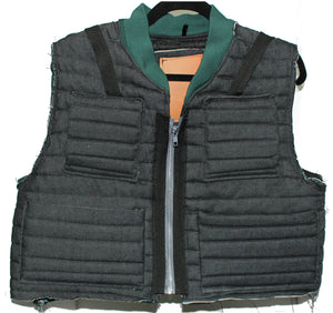 RTW Denim Quilted Tactical Vest
