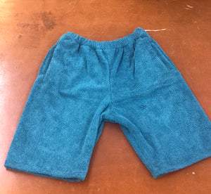 TERRY SHORTS SKY BLUE
