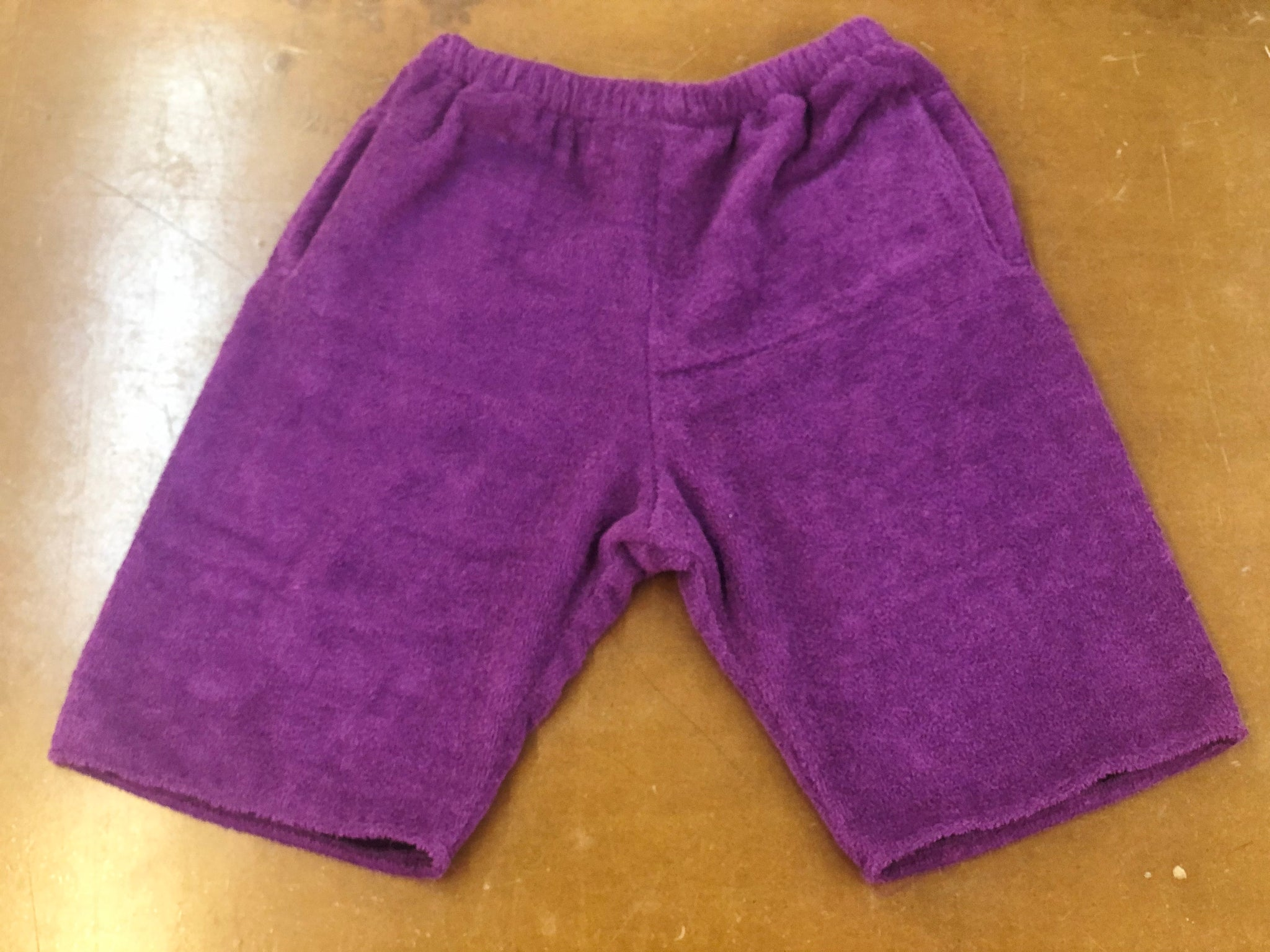 TERRY SHORTS PURPLE