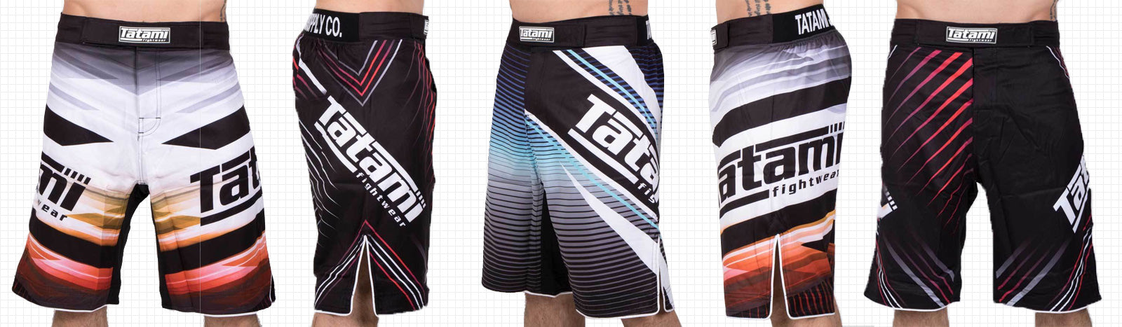Mens Shorts BJJ No Gi