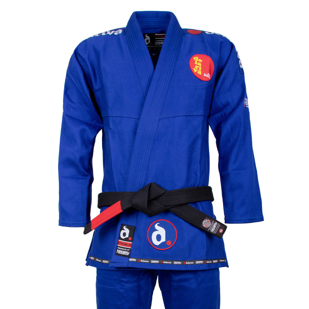 Image of Tatami x Delariva Basic Gi - Blue