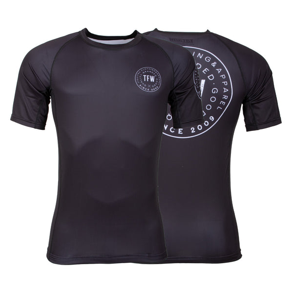 Iconic Short Sleeve Rash Guard