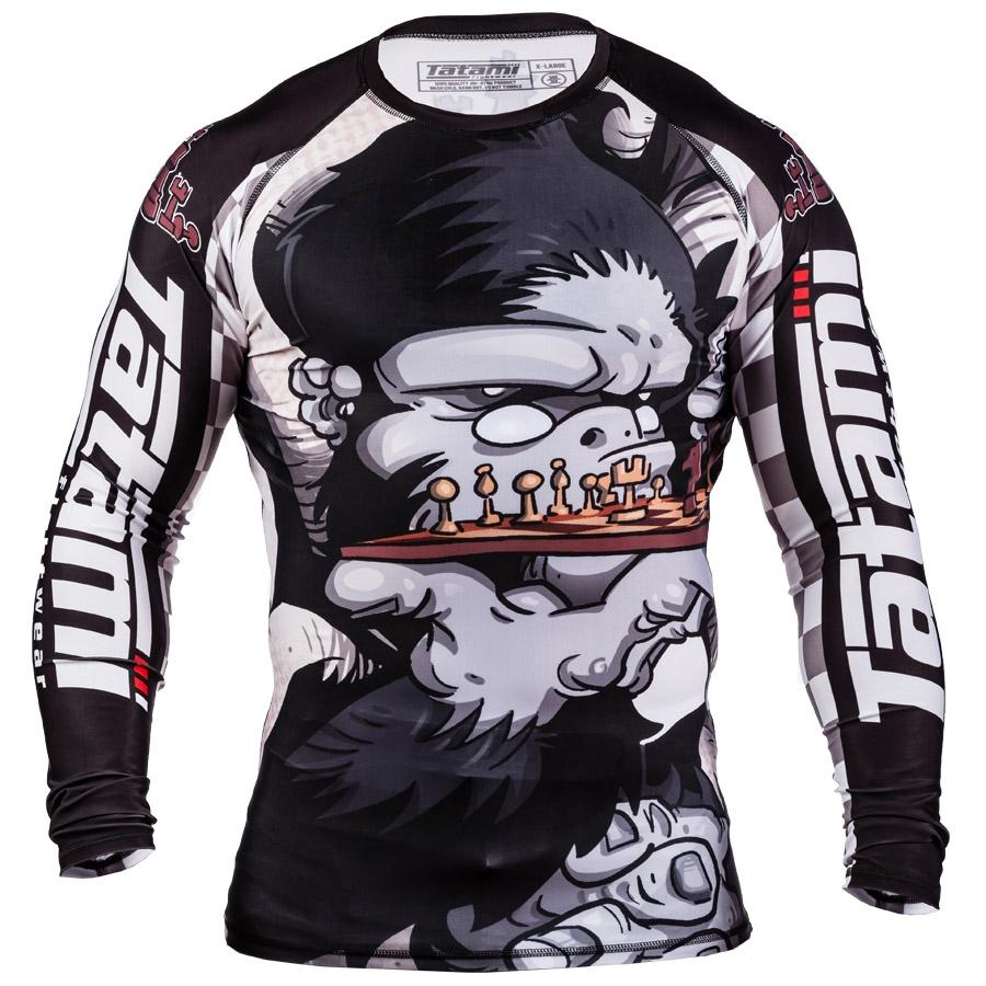 Image of Tatami Chess Gorilla Rash Guard