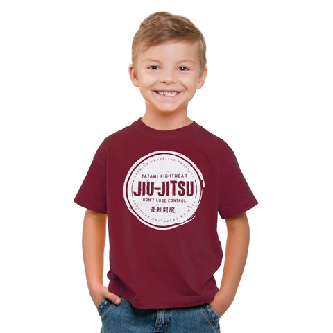 Kids Don't Lose Control Maroon T-Shirt