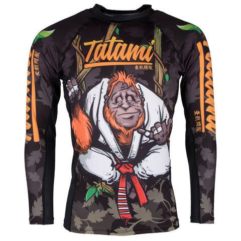 Hang Loose Orangutan Rash Guard
