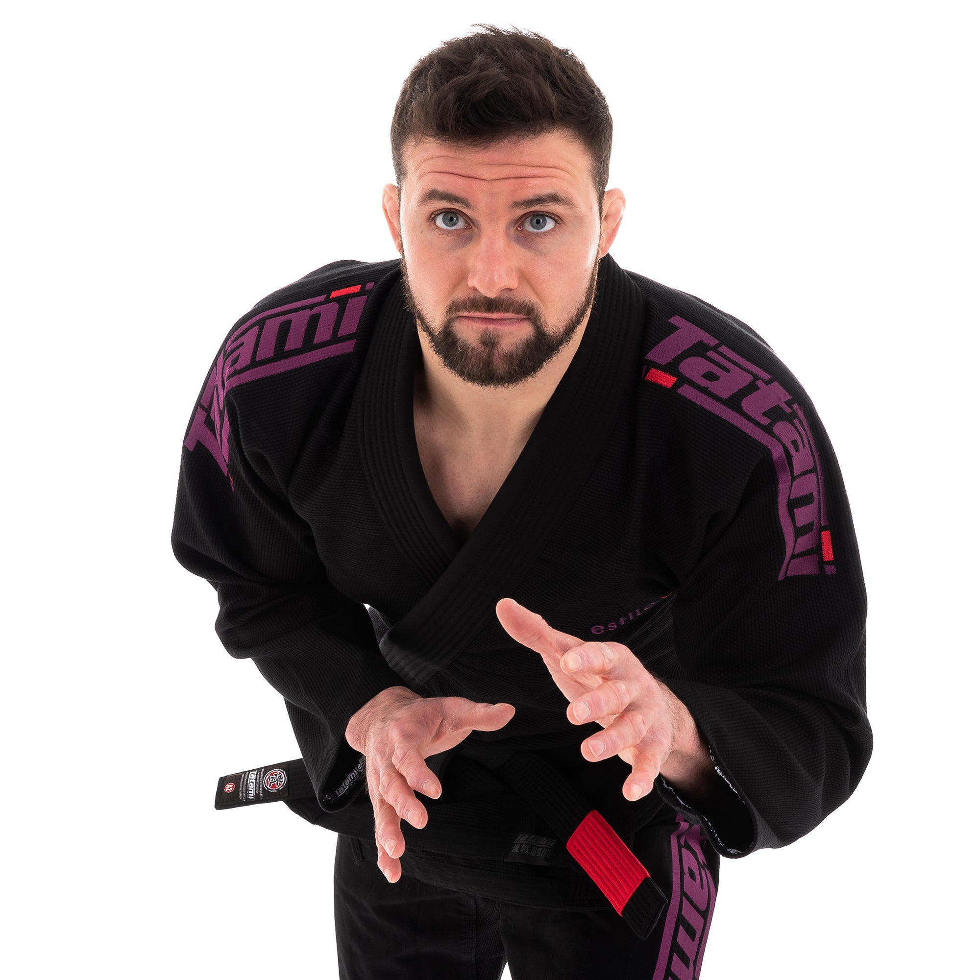 Image of Tatami Estilo 6.0 Black & Purple BJJ Gi
