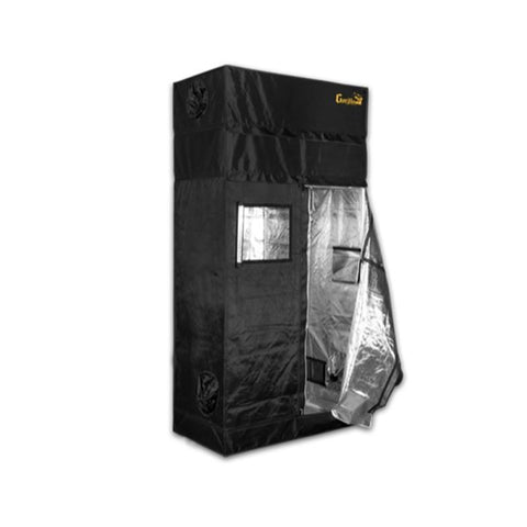 Gorilla Grow Tent 2'x4' Heavy Duty Grow Tent Door Open