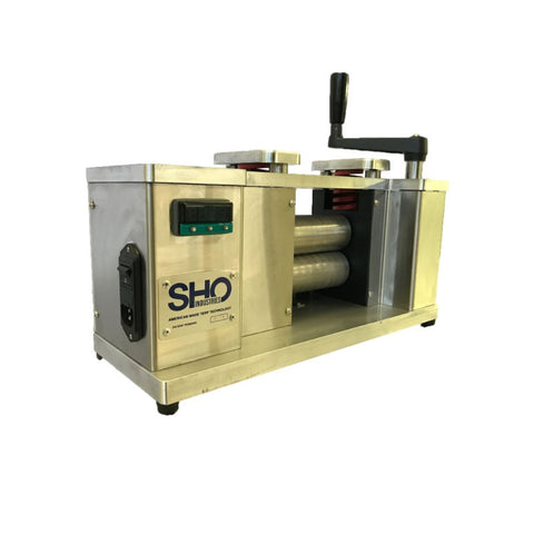 Rosin Roller Patented Rosin Extraction Technology from SHO Industries Side
