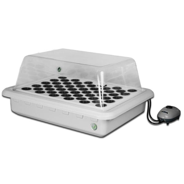 SuperPonics SuperCloner 50 Site Hydroponic Cloner by SuperCloset Angle