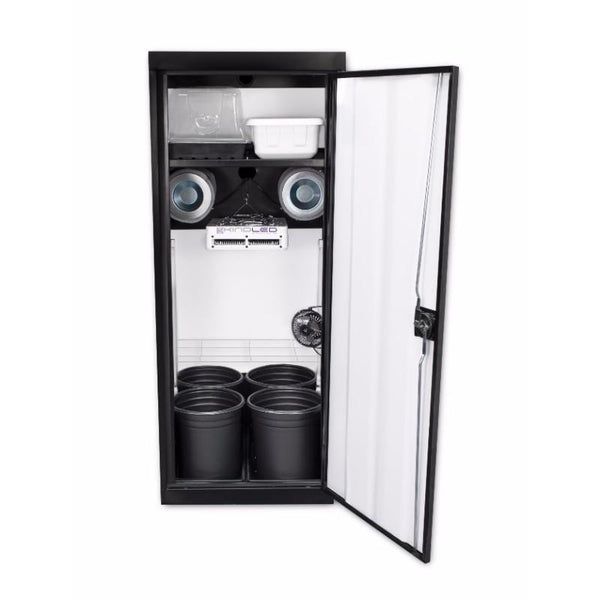 SuperStar 3.0 LED Soil Grow Cabinet by SuperCloset