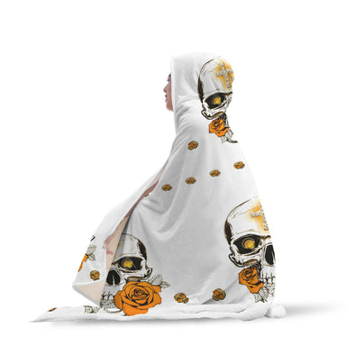 SKULL HOODED BLANKET - 1Gconnect