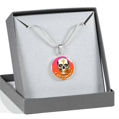 SKULL NECKLACE- GO FORTH and BE YOU - 1Gconnect