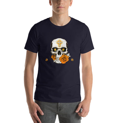 SKULL-Short-Sleeve Unisex T Shirt - 1Gconnect