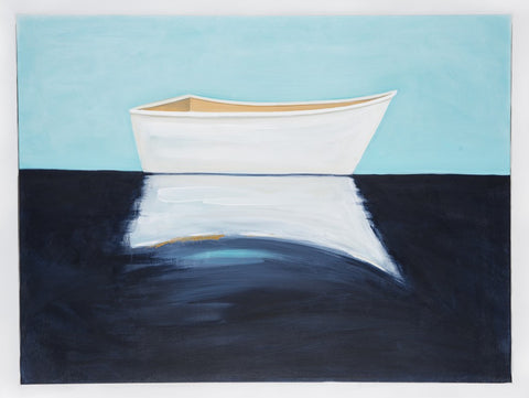 White boat - SOLD