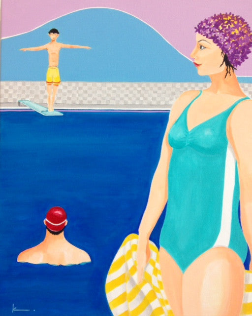 Pool People Collection – SOLD