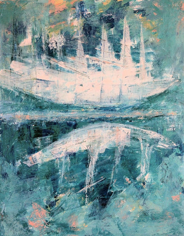 Ghost ship -SOLD