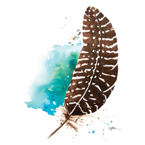 Feather - Greeting Card