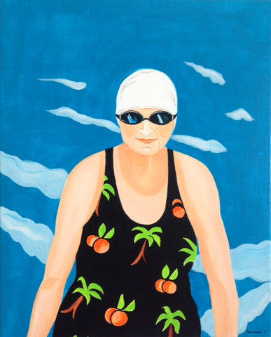 Tropical swimsuit - SOLD