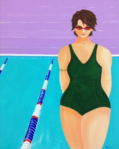 Urban swimmer - SOLD