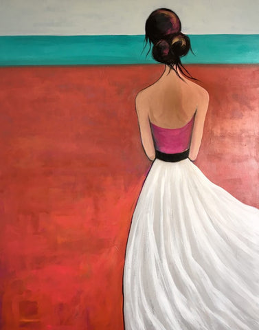 Waiting and wondering - SOLD