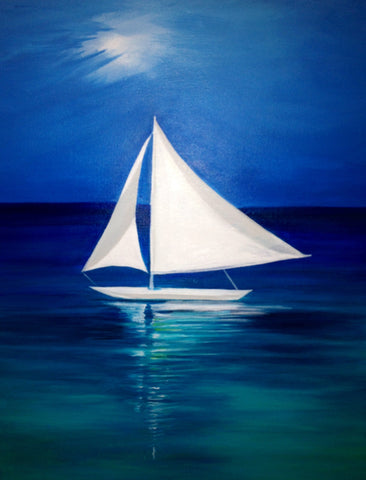 Night sail - SOLD