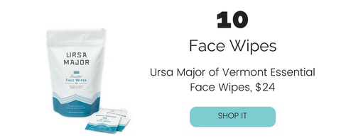 Ursa Major of Vermont Essential Face Wipes