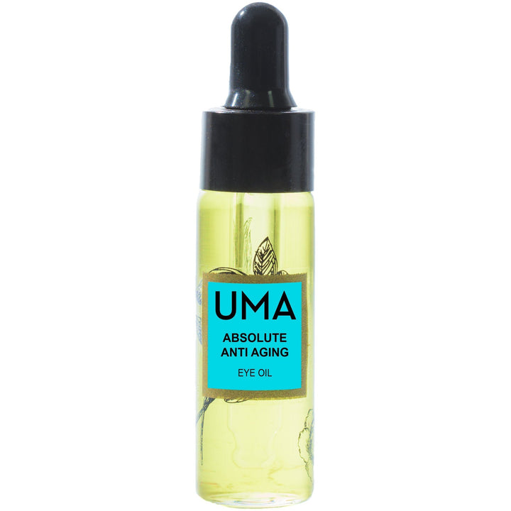 Uma Oils Absolute Anti-Aging Vegan Eye Oil - Good Cubed Cruelty Free Online Beauty Marketplace