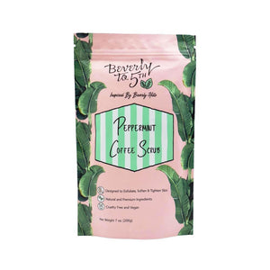 Beverly to 5th Peppermint Vegan Coffee Scrub - Good Cubed Cruelty Free Online Beauty Marketplace