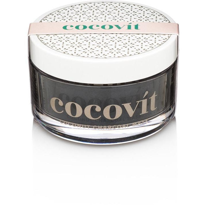 Cocovit Coconut Charcoal Vegan Face Mask - Good Cubed Cruelty Free Online Beauty Marketplace