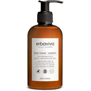 Erbaviva Awaken Vegan Body Lotion - Good Cubed Cruelty Free Online Beauty Marketplace