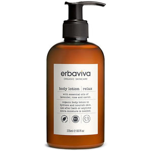 Erbaviva Relax Vegan Body Lotion - Good Cubed Cruelty Free Online Beauty Marketplace