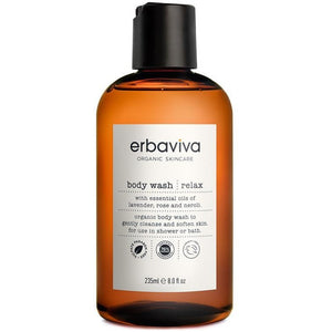 Erbaviva Relax Vegan Body Wash - Good Cubed Cruelty Free Online Beauty Marketplace