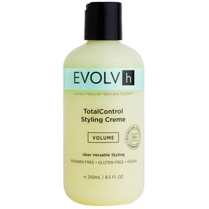 Evolvh TotalControl Vegan Styling Cream - Good Cubed Cruelty Free Online Beauty Marketplace