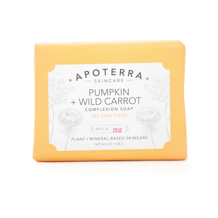 Pumpkin + Wild Carrot Vegan Complexion Bar Soap