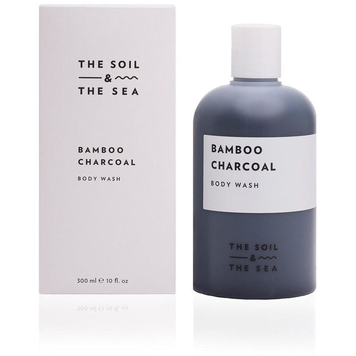 The Soil and The Sea Bamboo Charcoal Vegan Body Wash - Good Cubed Cruelty Free Online Beauty Marketplace