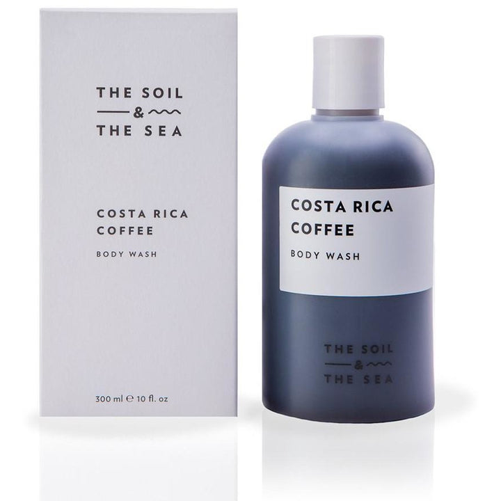 The Soil and The Sea Costa Rica Coffee Body Wash - Good Cubed Cruelty Free Online Beauty Marketplace