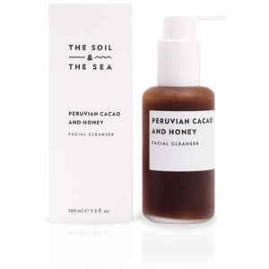 The Soil and The Sea Peruvian Cacao and Honey Facial Cleanser - Good Cubed Cruelty Free Online Beauty Marketplace